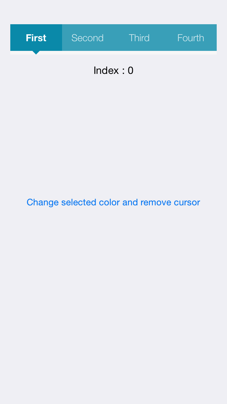 NPSegmentedControl screenshot