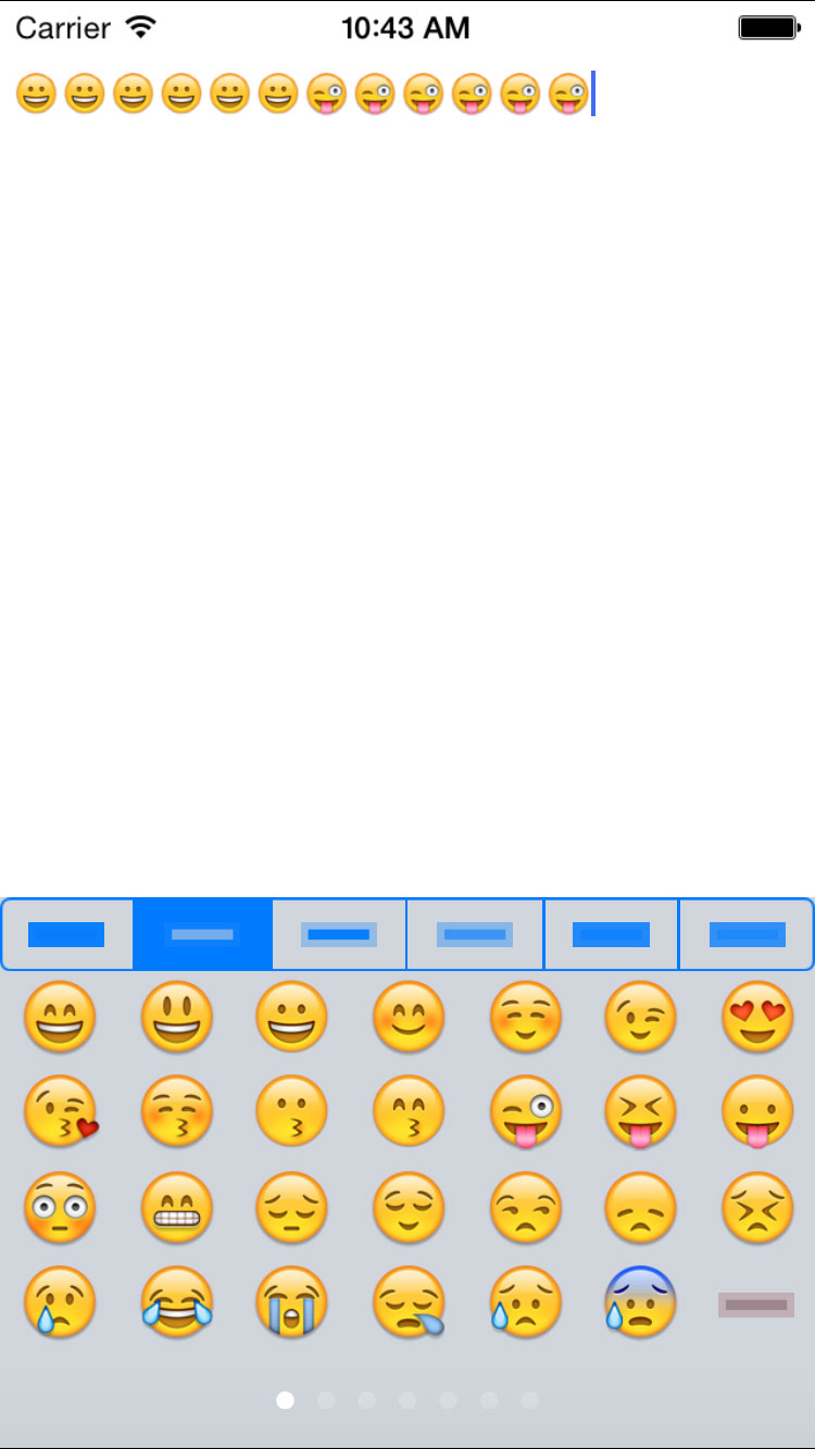 AGEmojiKeyboard screenshot