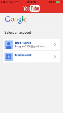 BAHYouTubeOAuth screenshot