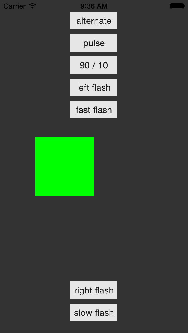 UIImageBlink screenshot