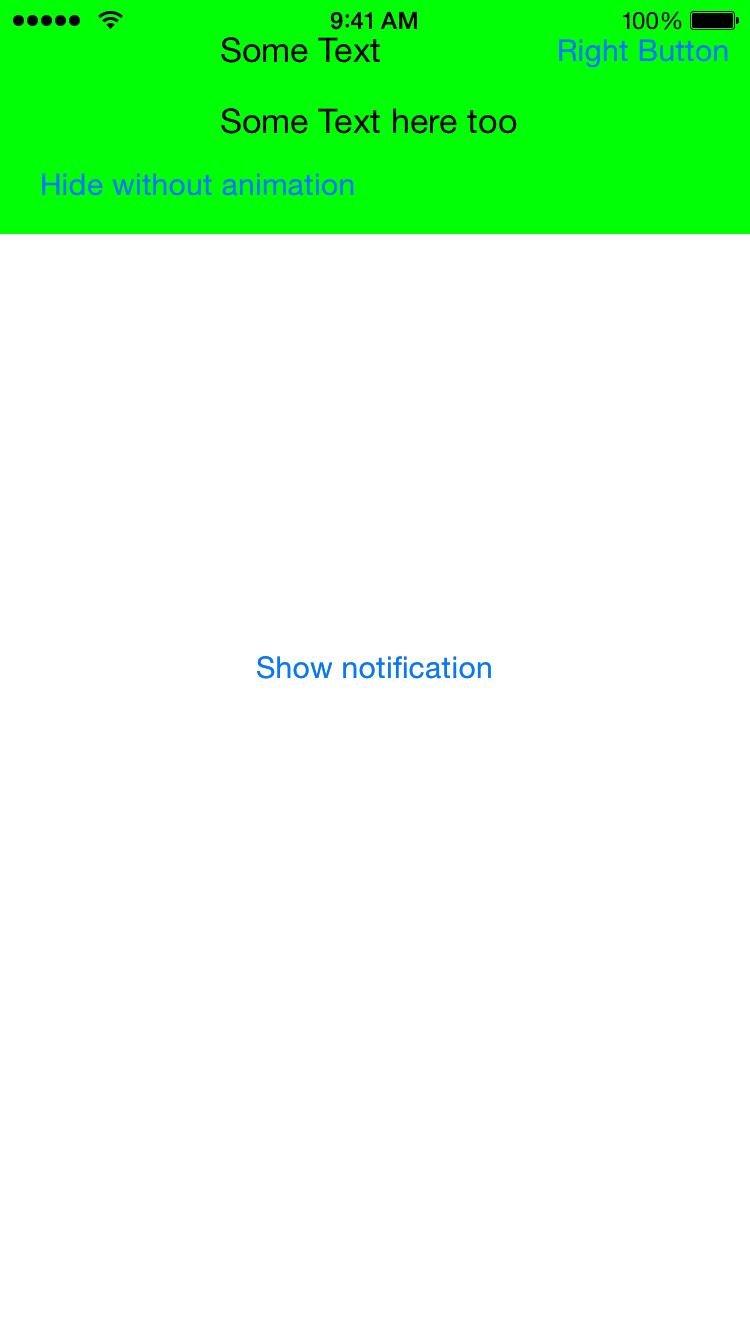 KODropdownNotification screenshot