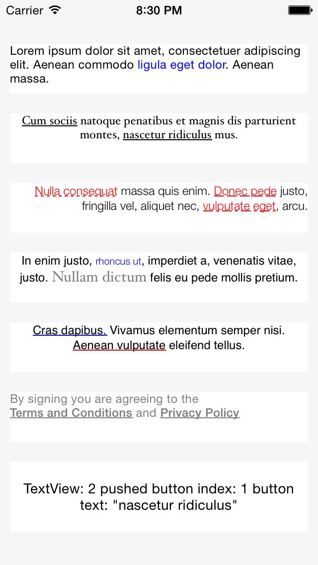 LTTextView screenshot