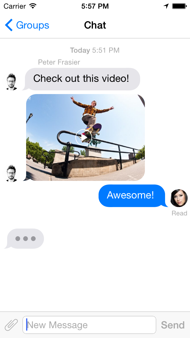 AwesomeChat screenshot