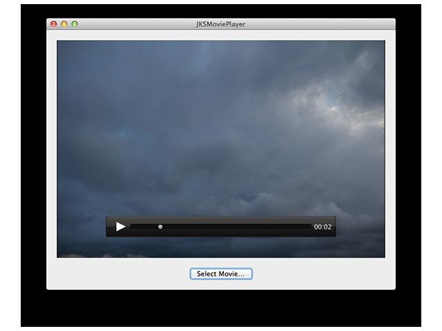 JKSMoviePlayerController screenshot