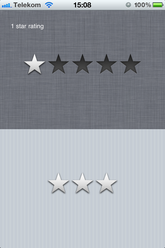 DLStarRating screenshot