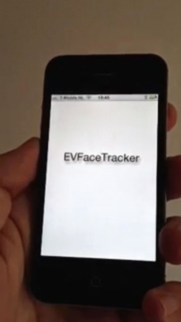 EVFaceTracker screenshot