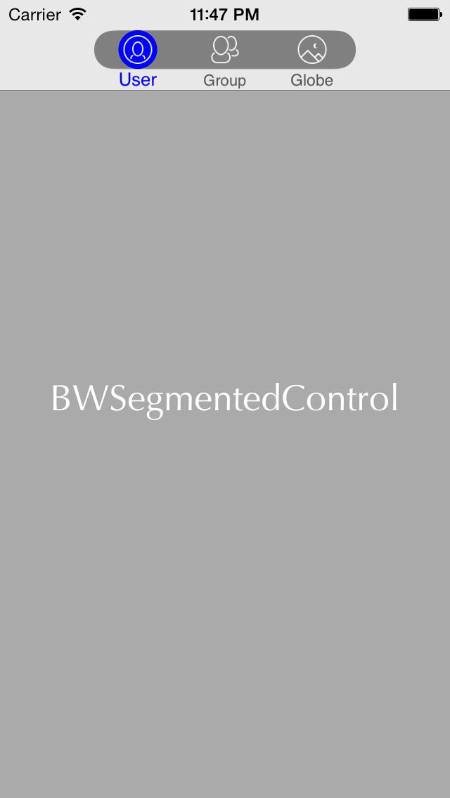 BWSegmentedControl screenshot