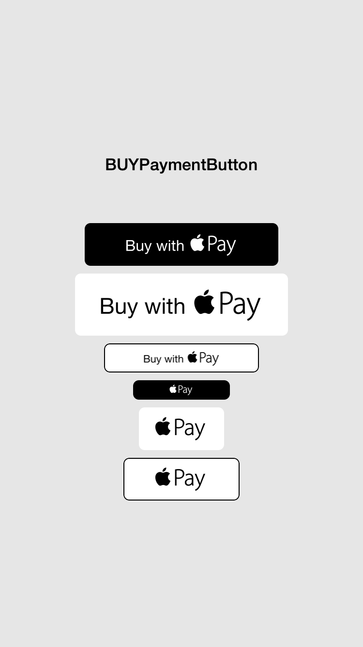 BUYPaymentButton screenshot
