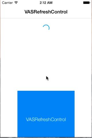 VASRefreshControl screenshot