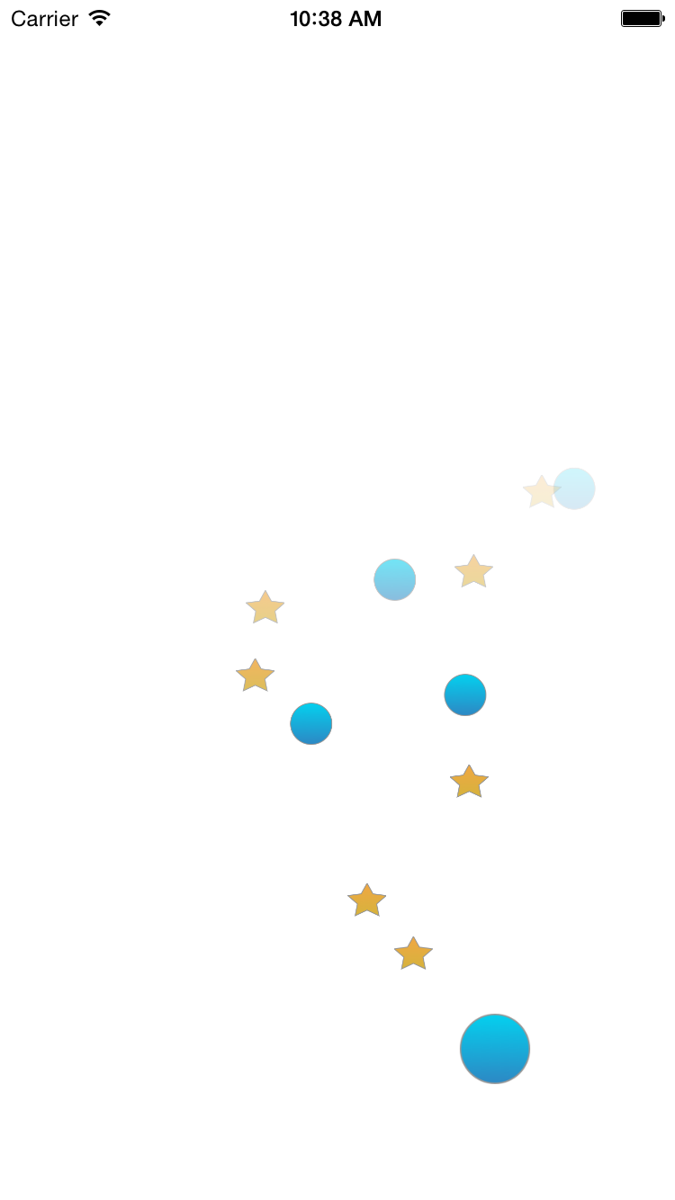 HYBubbleButton screenshot