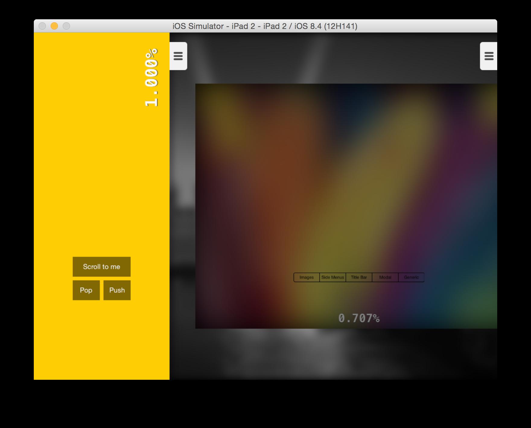 SCStackViewController screenshot