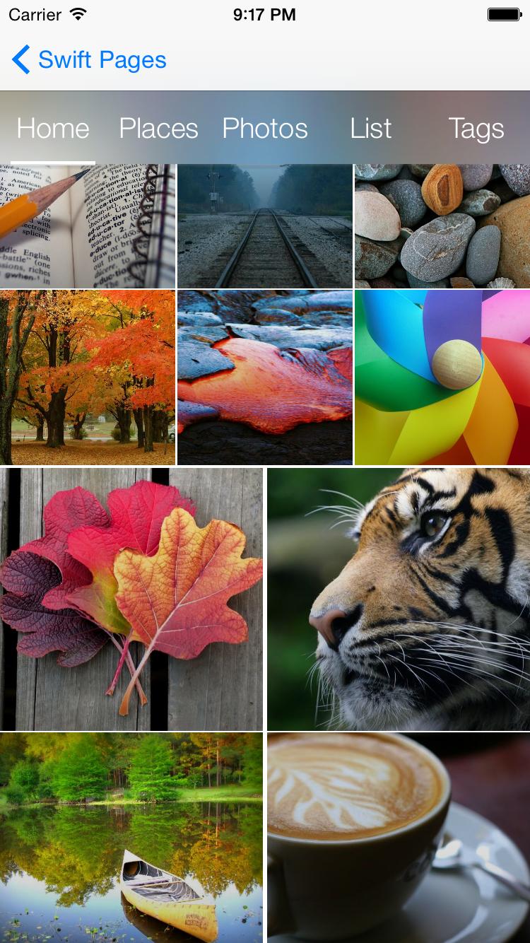 SwiftPages screenshot