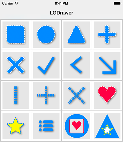 LGDrawer screenshot