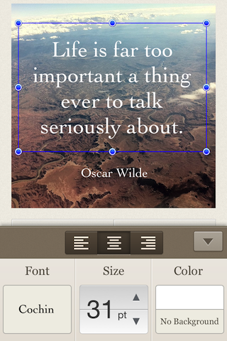 SquareQuote screenshot