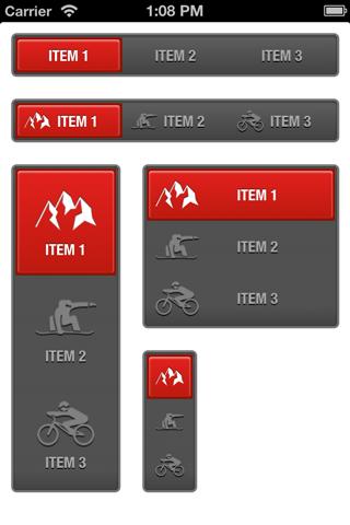 URBSegmentedControl screenshot