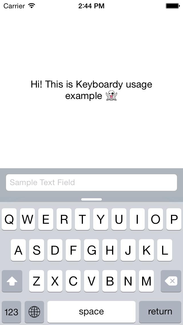 Keyboardy screenshot