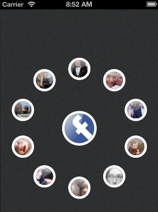 QuadCurveMenu (Burtlo) screenshot