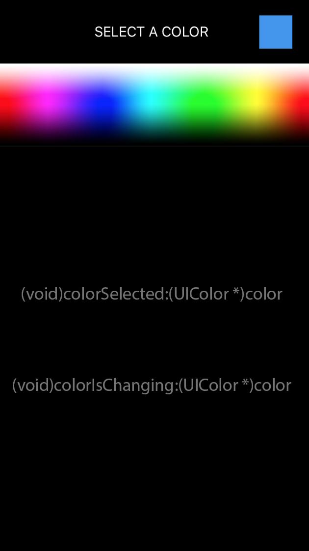 CRColorPicker screenshot
