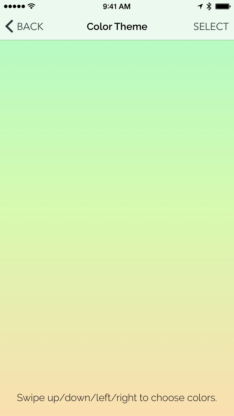 TouchGradientPicker screenshot