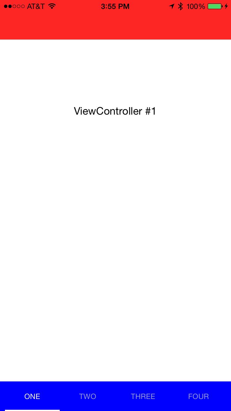ABCTabBarController screenshot