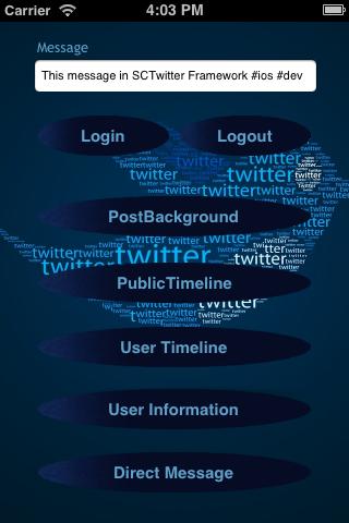 SCTwitter screenshot