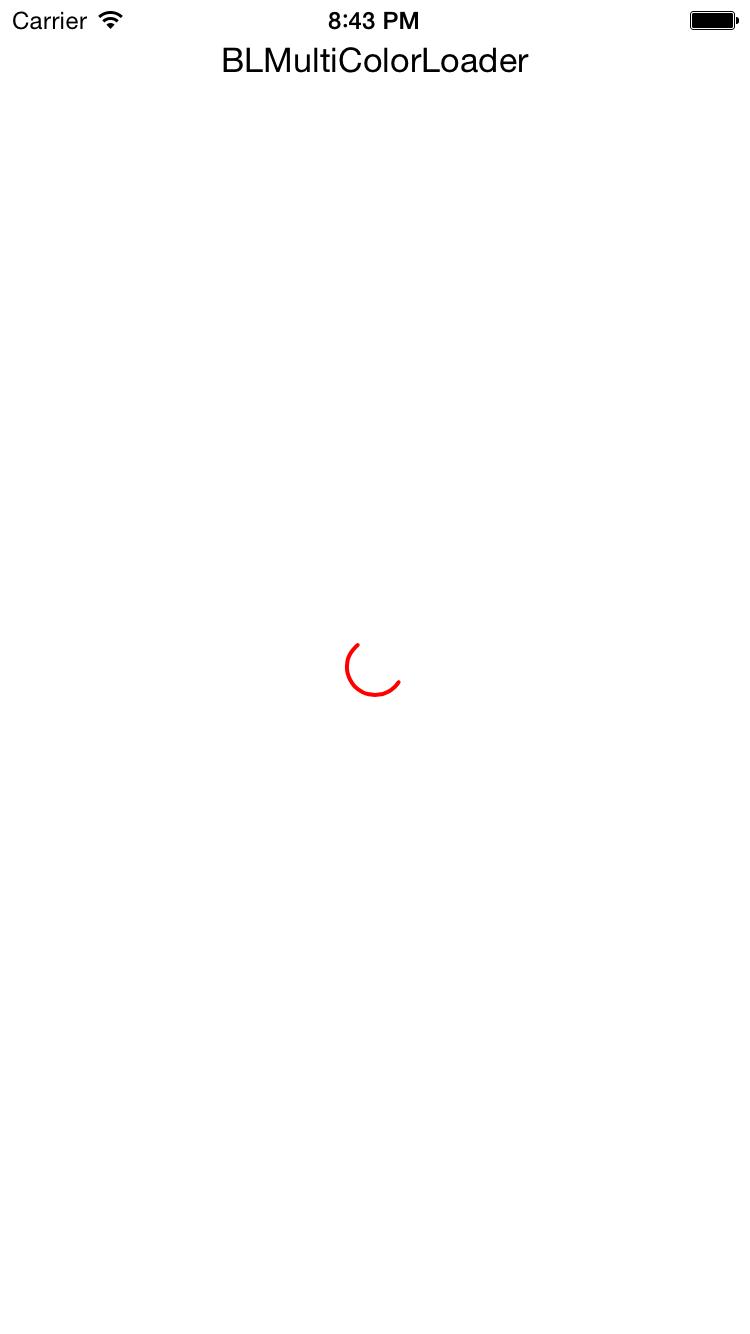 BLMultiColorLoader screenshot