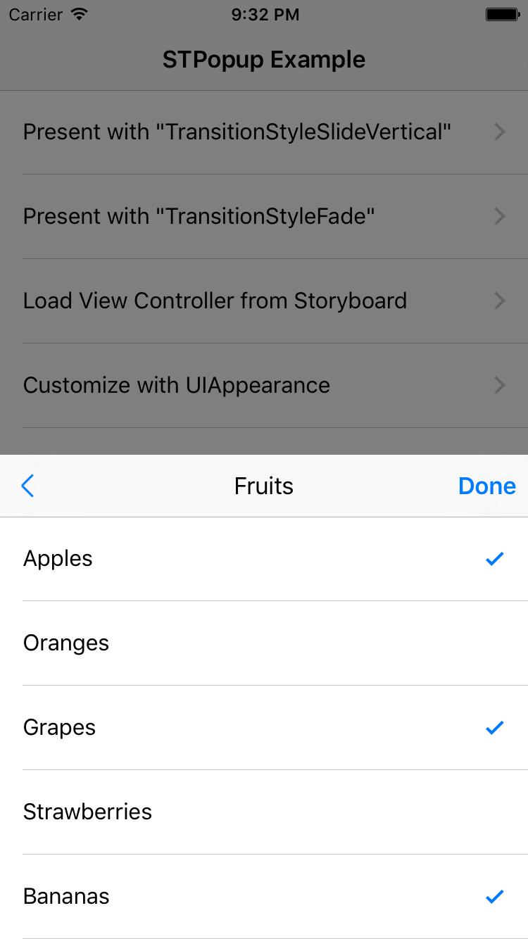 STPopup screenshot