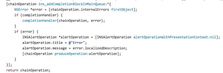 INSOperationsKit screenshot
