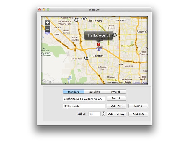 MacMapKit screenshot