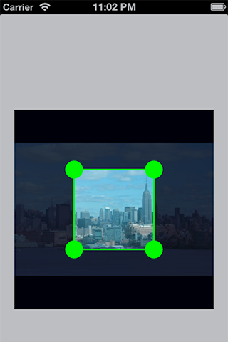 ImageCropView screenshot