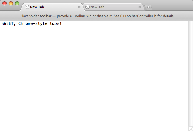 Chromium Tabs screenshot