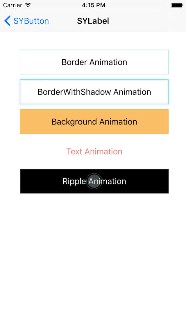 SYBlinkAnimationKit screenshot