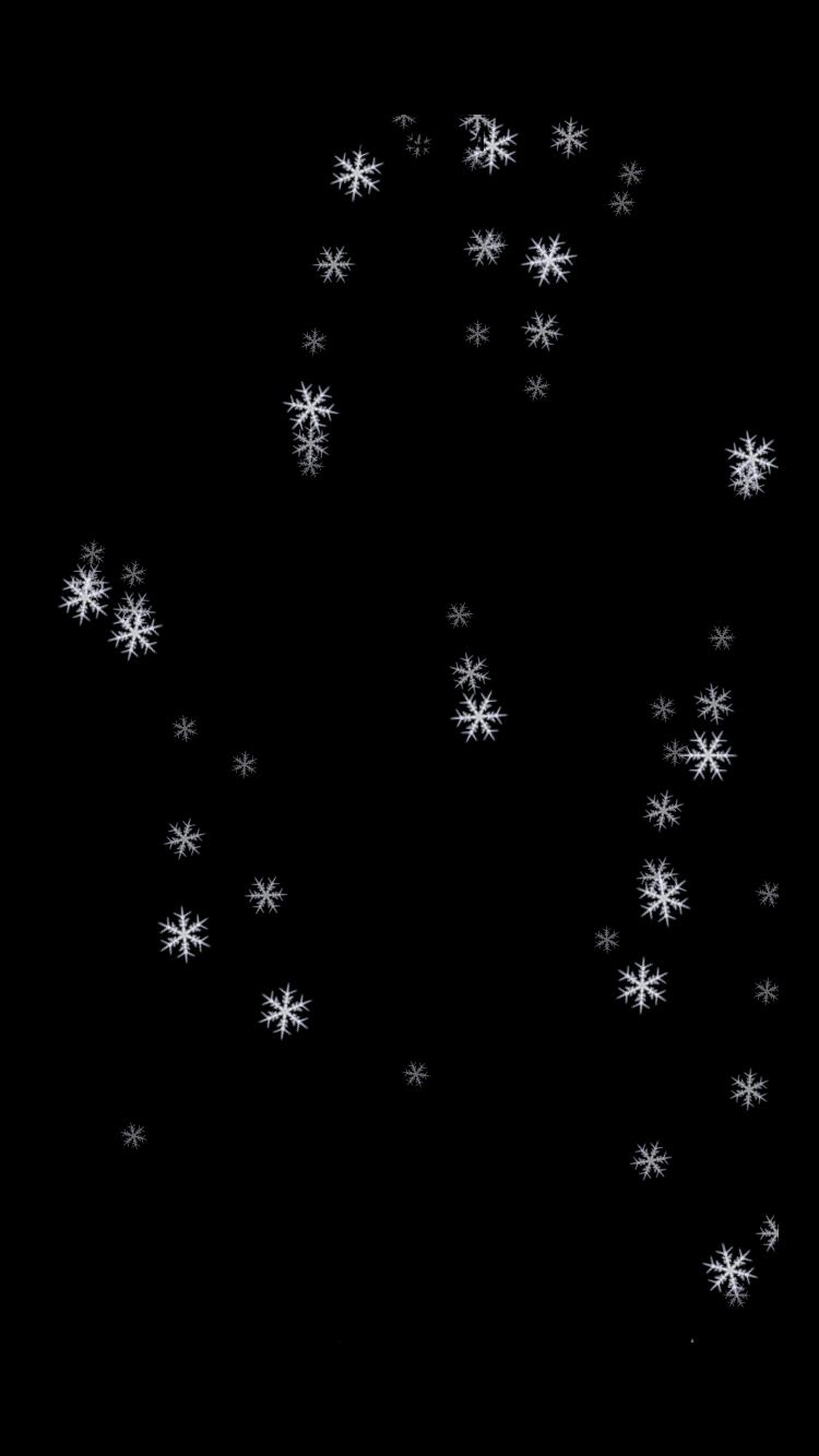 SnowFallView screenshot