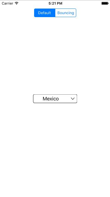 UIDropDown screenshot