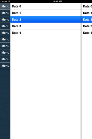 StackScrollView screenshot