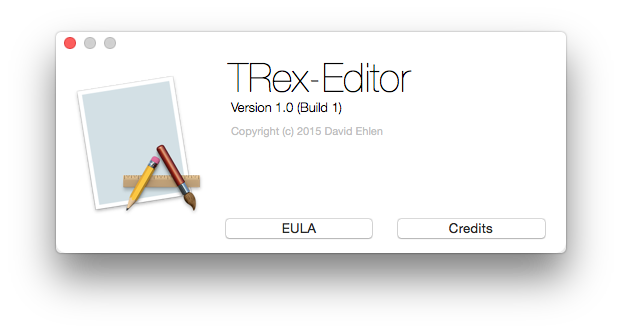 TRexAboutWindowController screenshot