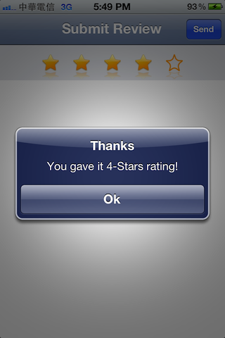 RateStars screenshot