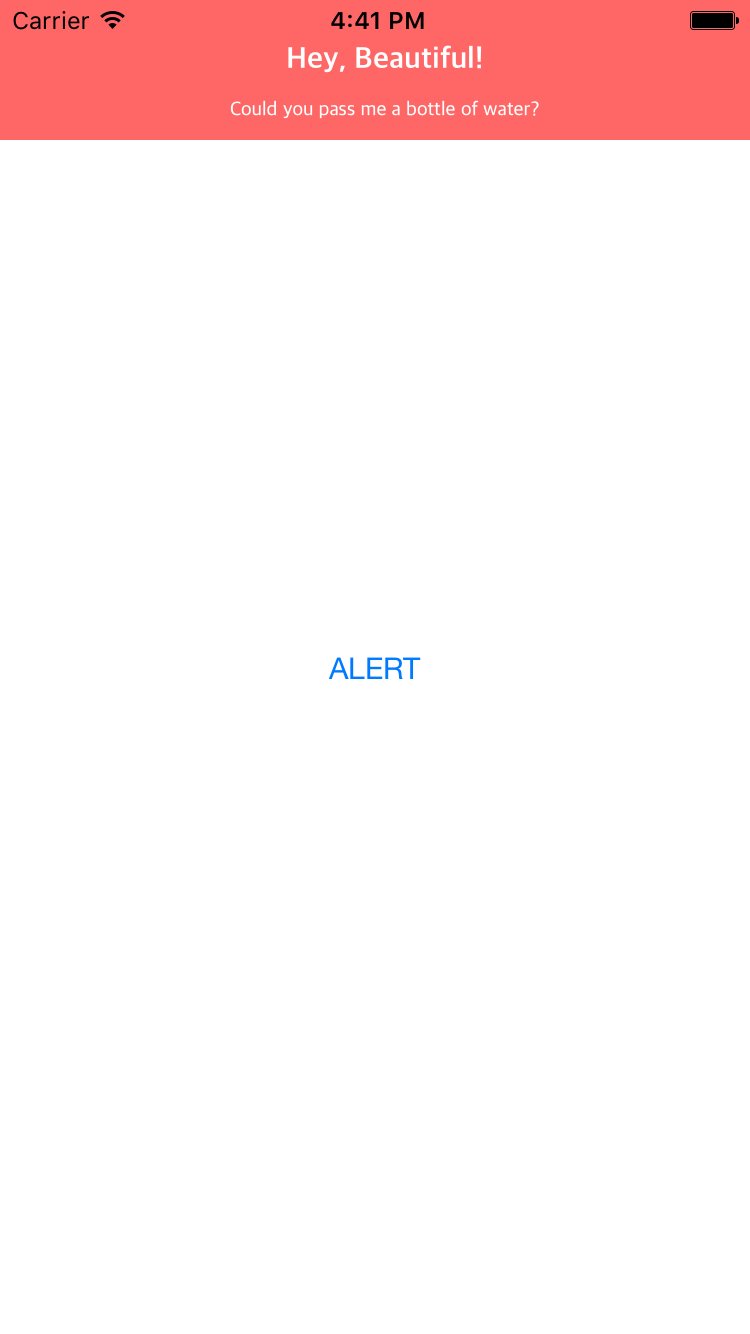 JDropDownAlert screenshot