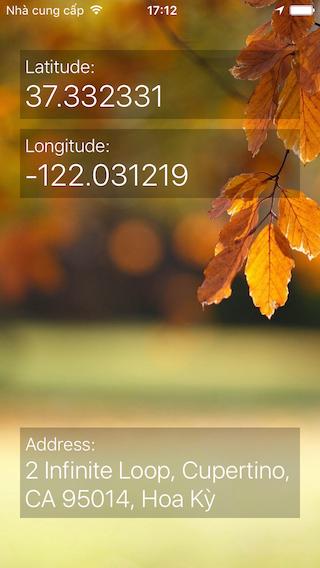 LMGeocoder screenshot