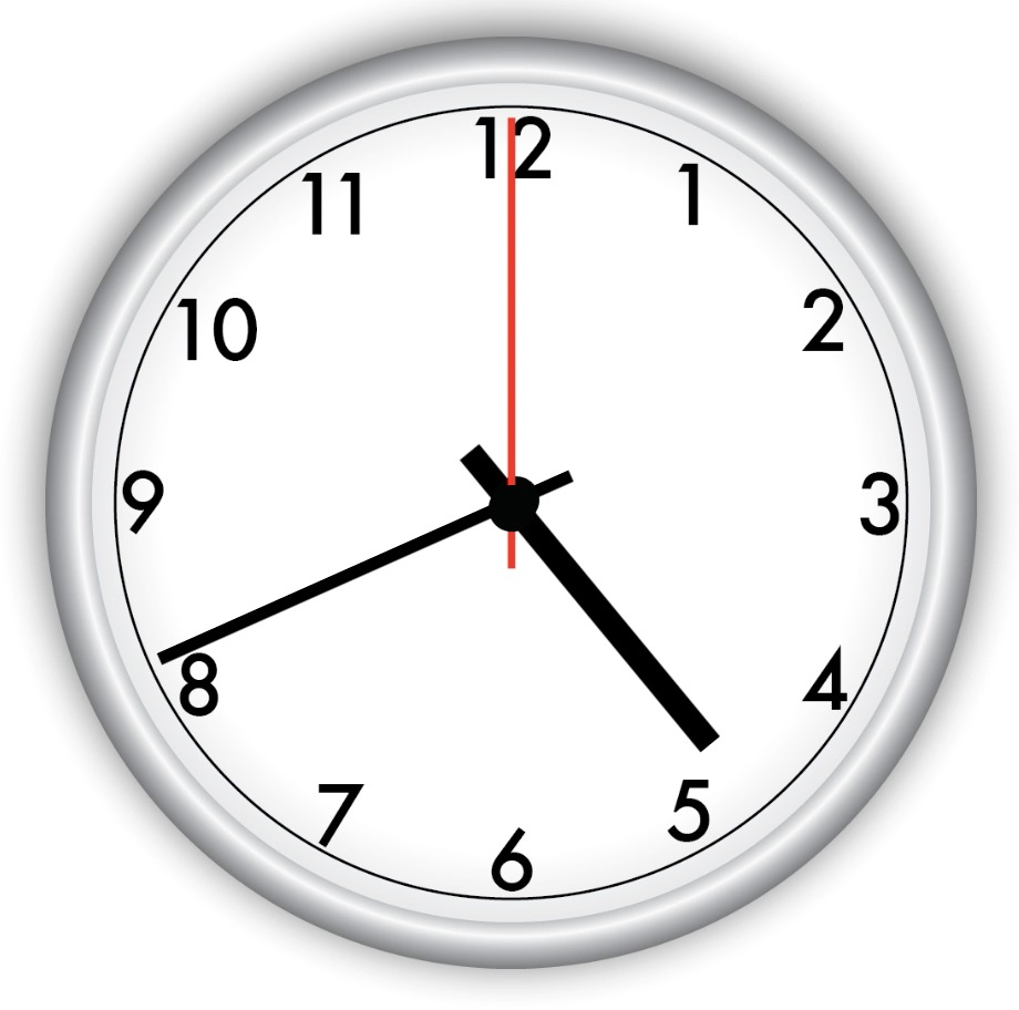Clock screenshot