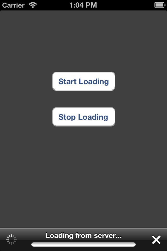 KKProgressToolbar screenshot