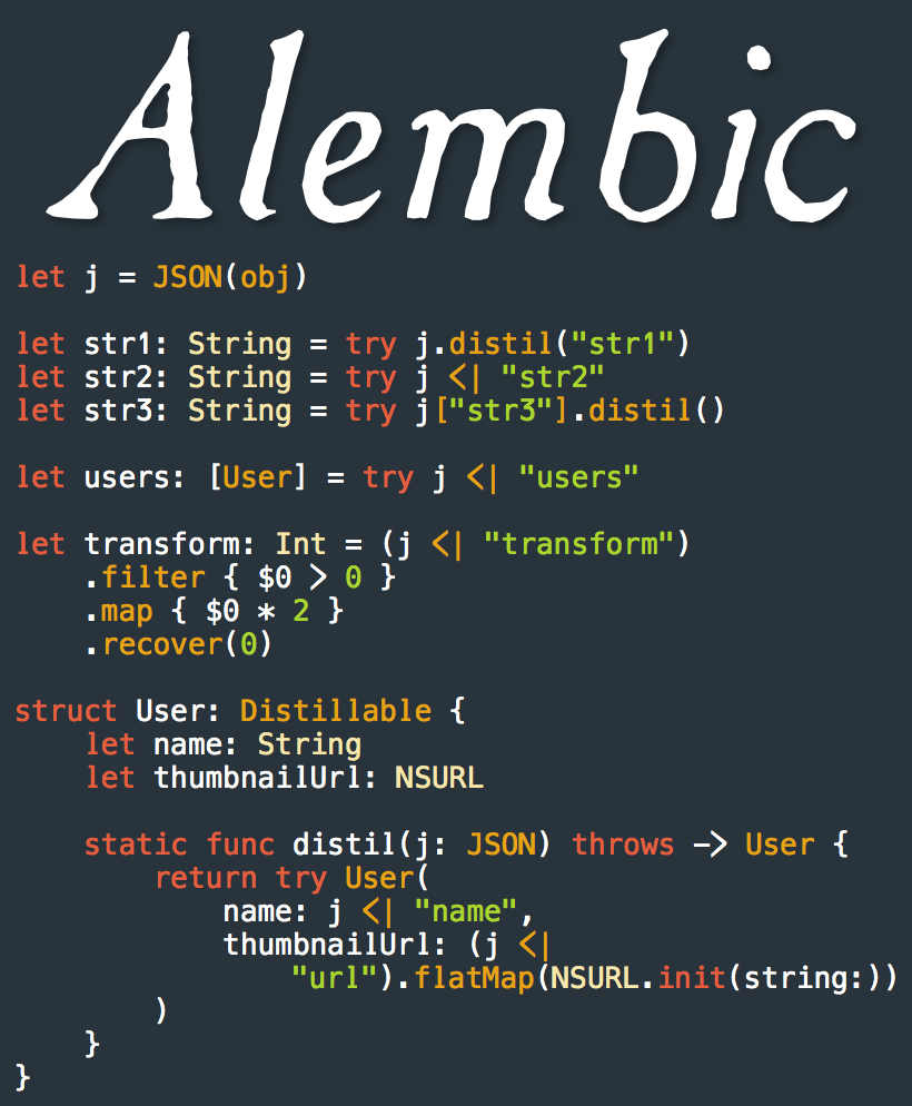 Alembic screenshot