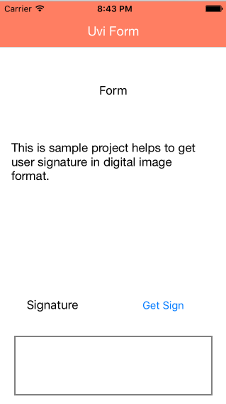 iOS-Signature-Capture screenshot