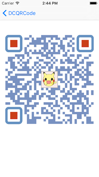 DCQRCode screenshot