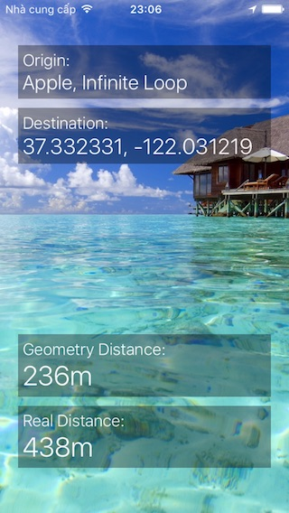 LMDistanceCalculator screenshot