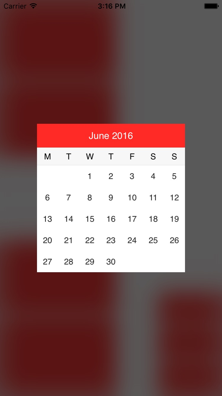 ASCalendar screenshot