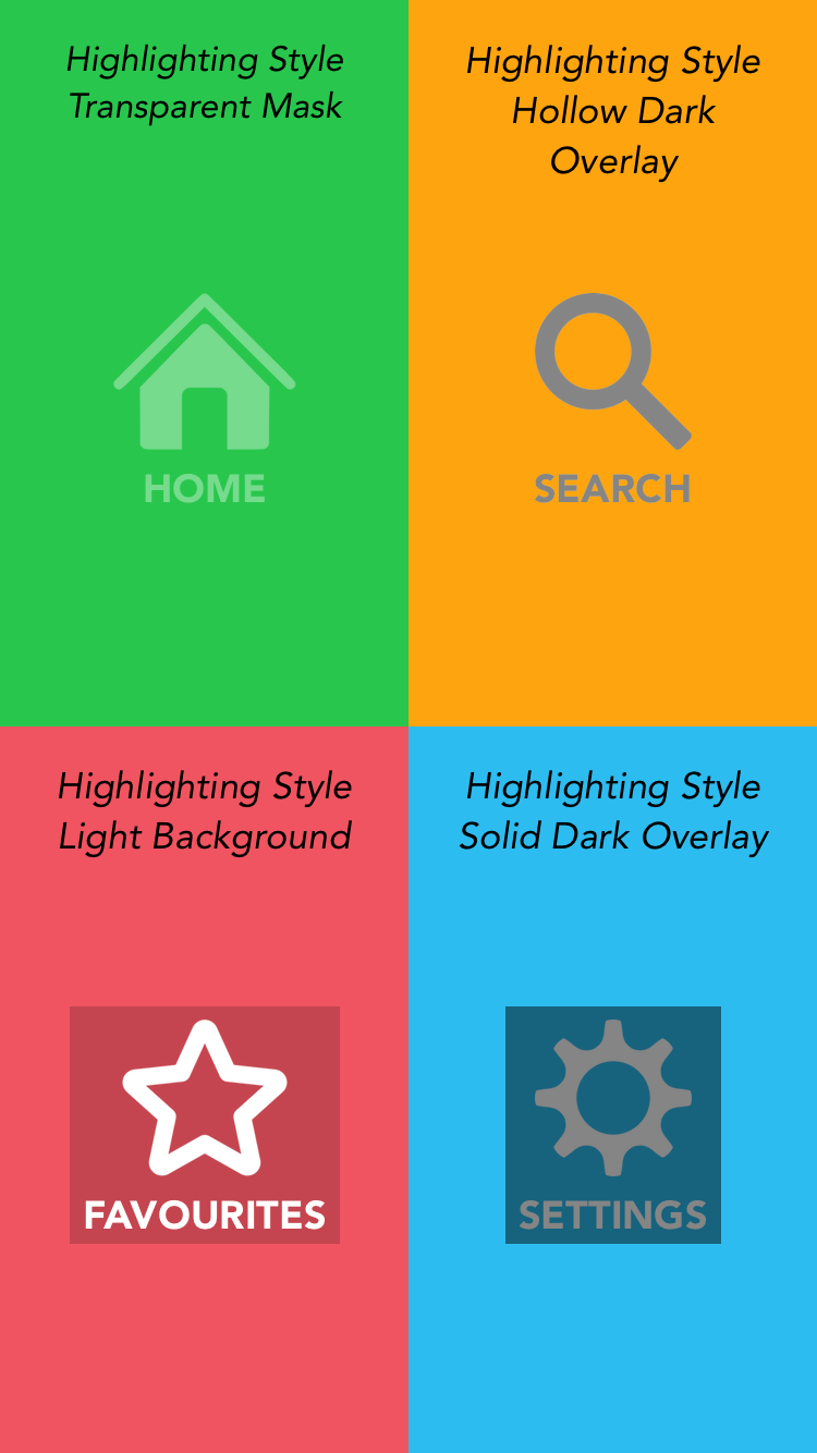 UIView+TouchHighlighting screenshot