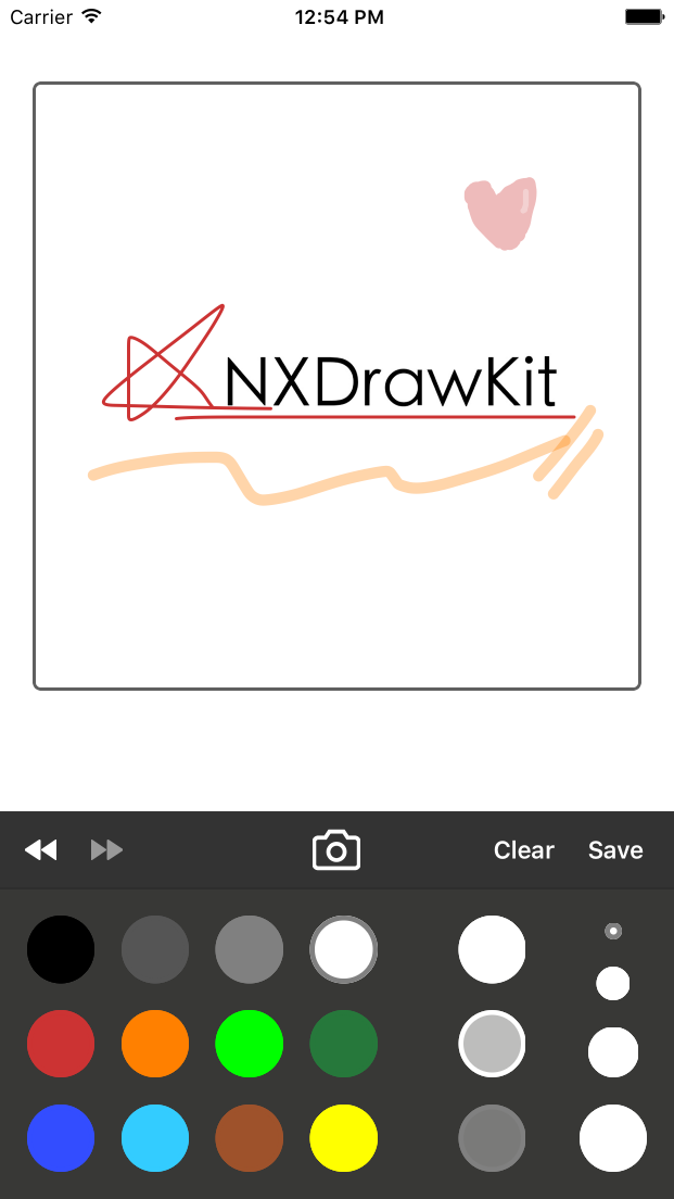 NXDrawKit screenshot