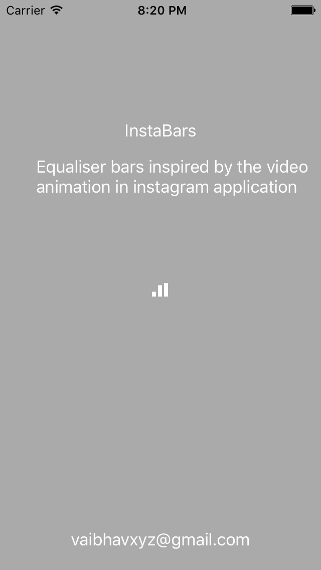 InstaBars screenshot