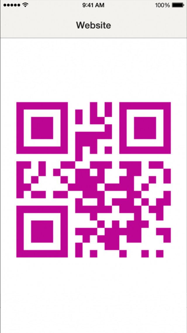 QRCodeReader screenshot